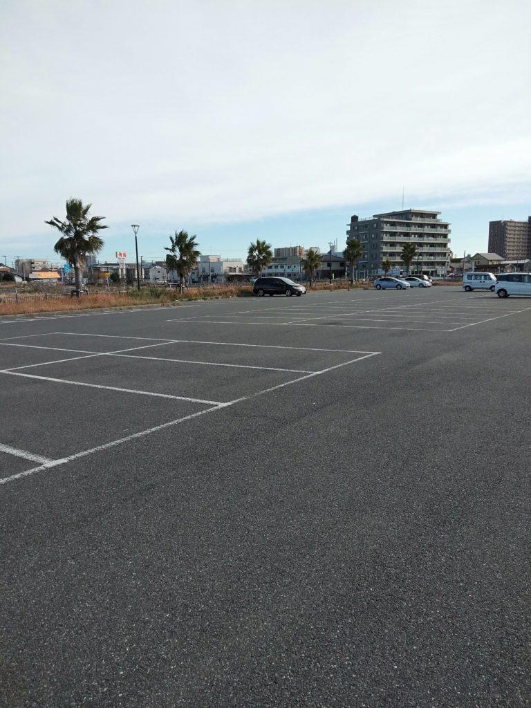 木更津内港公園 駐車場