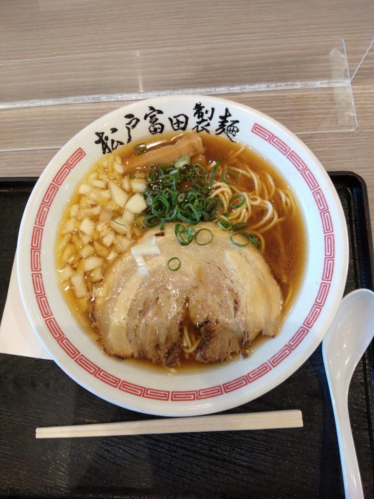 松戸富田製麺 煮干そば