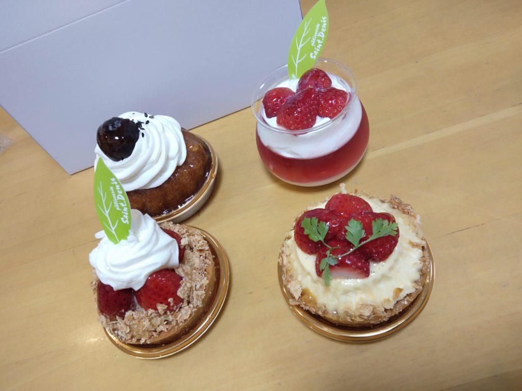 サン・ドニ ケーキ