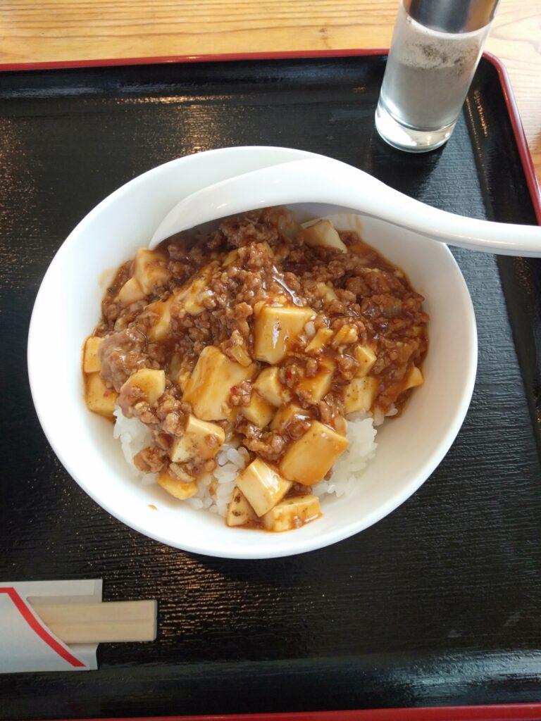 中華食堂 金龍 中華そば・ミニマーボー丼セット