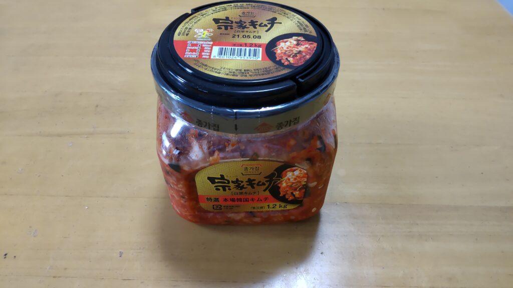 コストコホールセール木更津倉庫店 宗家特選キムチ