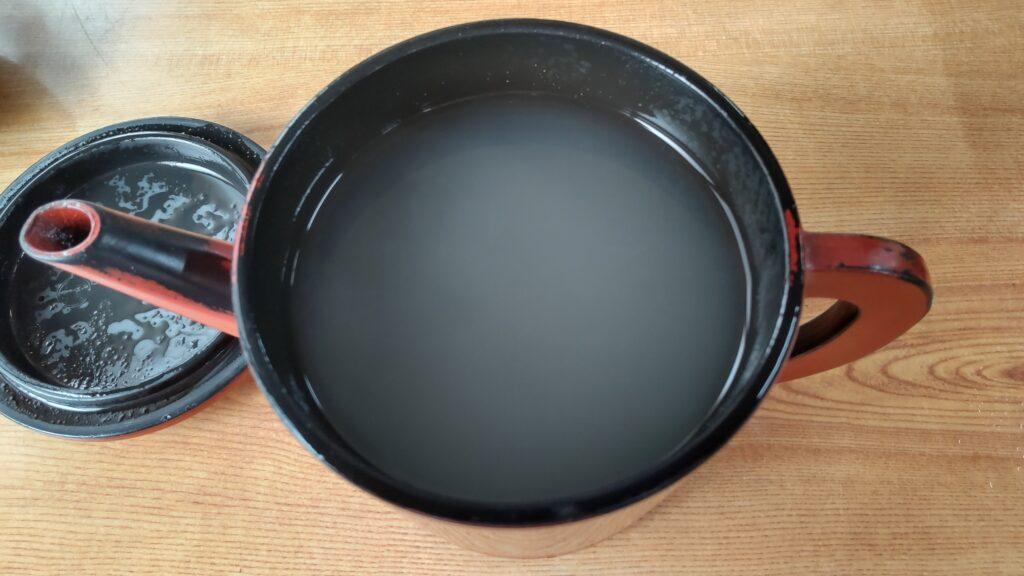 森田屋本店 蕎麦湯