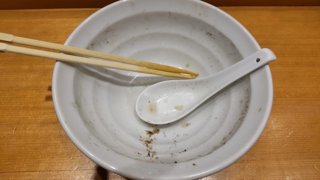 木更津丿貫 へちかん 煮干蕎麦 長崎県産片口鰯