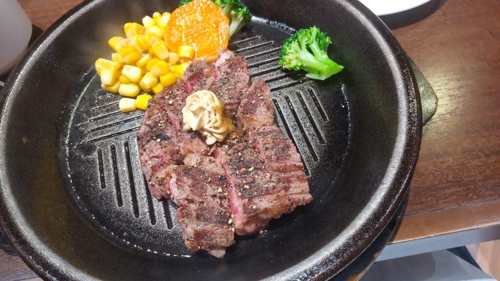 いきなりステーキ木更津店 ワイルドステーキ