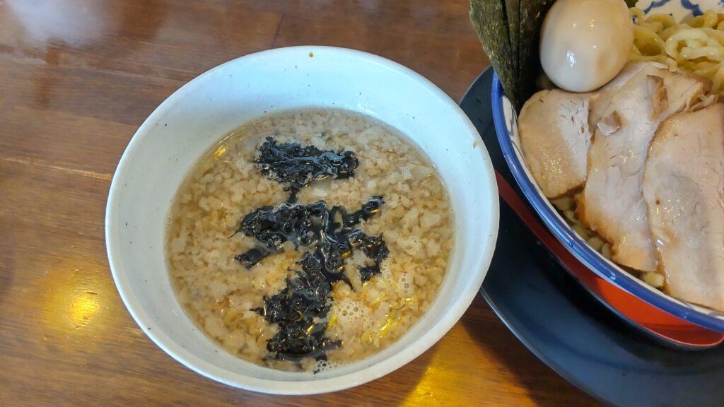 千葉房総 麺のマルタイ 背脂醤油つけめん ご馳走盛り 特盛 つけ汁