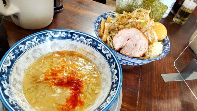 ラーメン豚39 限定麺 特製つけ麺